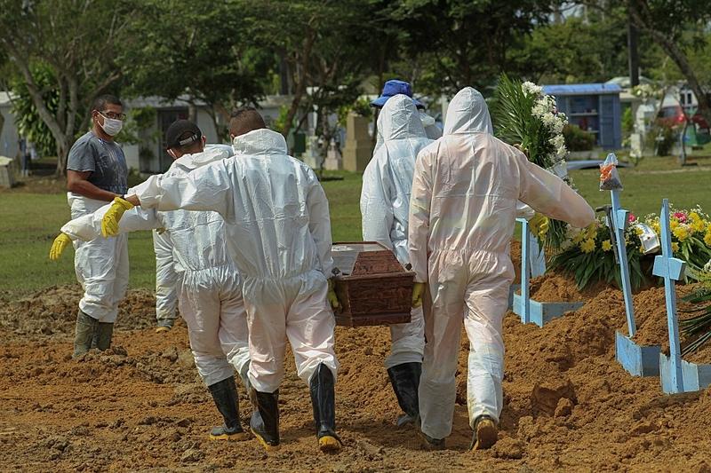 brasil covid mortes